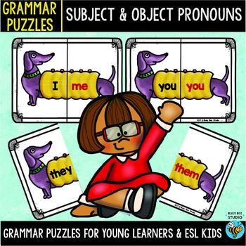 Subject Object Pronouns Puzzles