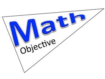 Subject Objective Pennants