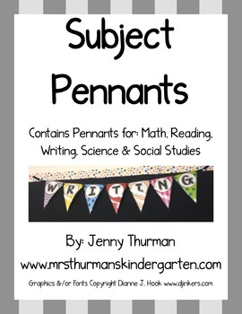 Subject Pennants