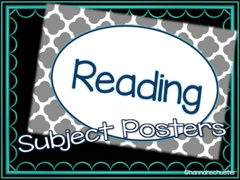 Subject Posters
