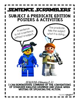 Subject & Predicate Anchors & Activity