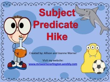 Subject Predicate Hike