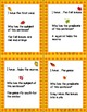 Subjects and Predicates ~ I Have Who Has ~ Fall Theme