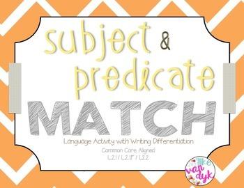 Subject & Predicate Match