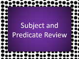 Subject Predicate PowerPoint