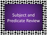 Subject Predicate PowerPoint