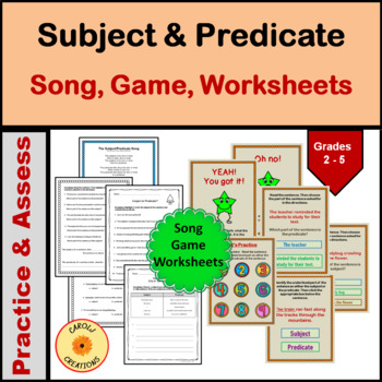 Subject-Predicate Song