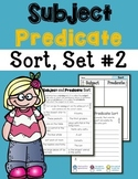 Subject Predicate Sort Set 2