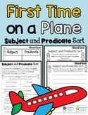 Subject Predicate Sort Airplane Theme