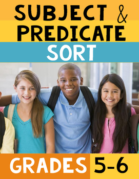 Subject Predicate Sort