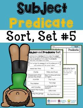 Subject Predicate Sort Bundle