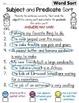 Subject Predicate Sort Set 4