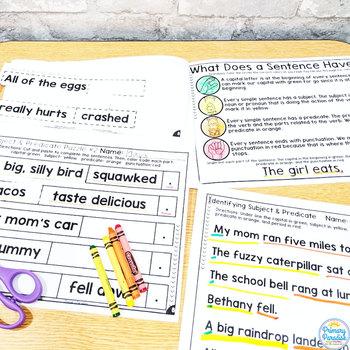 Sentences: Subject & Predicate