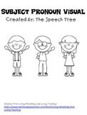 Subject Pronoun Visual
