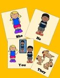 Subject Pronouns - Flash Card Bundle & Board Game