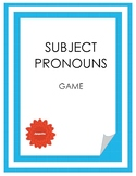 Subject Pronouns Game