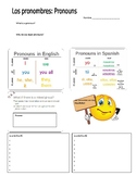 Subject Pronouns Guided Notes