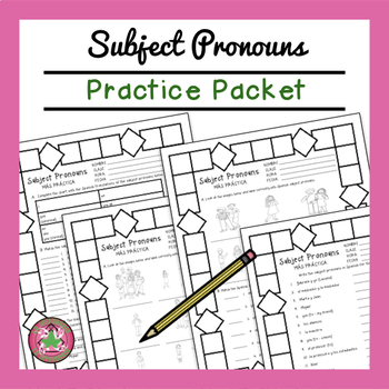 Subject Pronouns Packet