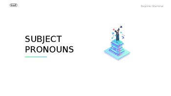 Subject Pronouns PowerPoint