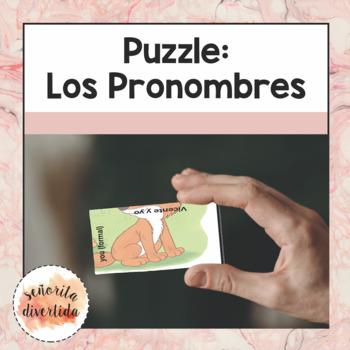 Personal Pronouns / Los Pronombres Personales Puzzle