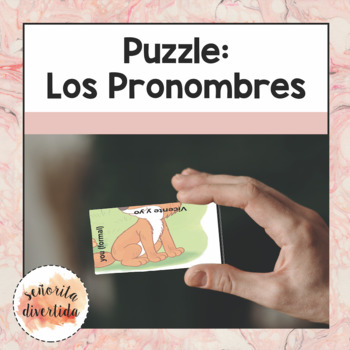 Personal Pronouns Puzzle
