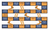 Subject Pronouns Spanish Chutes and Ladders Board Game
