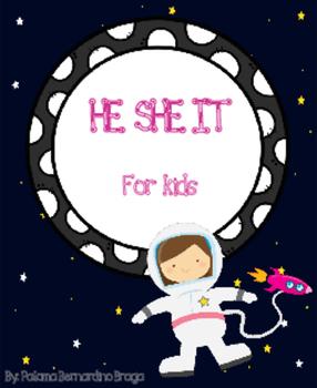 Subject Pronous (he, she, it) For Kids