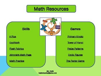 Subject Resources