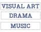 Subject Schedule Signs - Medium Blue