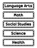 Subject Titles 1
