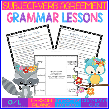 Subject-Verb Agreeement {Journeys} Week #17