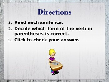 Subject Verb Agreement 2 PowerPoint