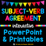 Subject-Verb Agreement PowerPoint and Worksheets