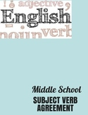 Subject Verb Agreement Worksheet with Answer Key