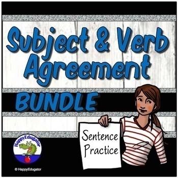 Subject Verb Agreement - Practice Resource Bundle