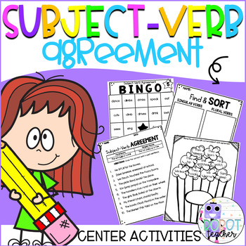 Subject-Verb Agreement Activities