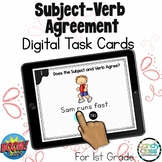 Subject-Verb Agreement Activities: Digital ELA Review Task