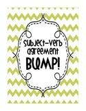 Subject-Verb Agreement BUMP!