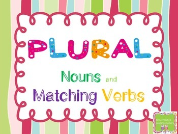 Subject Verb Agreement-Common Core Aligned