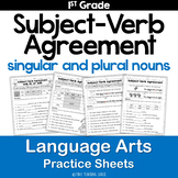 Subject-Verb Agreement Practice Sheets