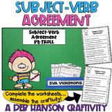 Subject-Verb Agreement Craftivity
