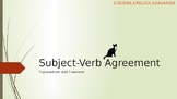 Subject-Verb Agreement Explanation, Exercises, Analysis, a