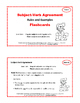 Subject-Verb Agreement RESOURCE | Must Have | RULES | FLASH CARDS | Gr 4,5,6