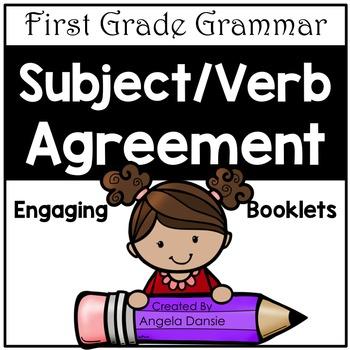 Subject / Verb Agreement (First Grade Grammar)