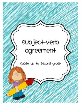 Subject Verb Agreement Freebie