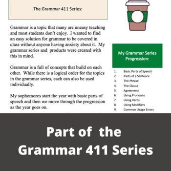 Subject Verb Agreement & Pronoun Antecedent Agreement Grammar