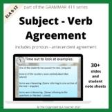 Subject Verb Agreement & Pronoun Antecedent Agreement Grammar