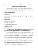 Subject-Verb Agreement - Informative Handout and Exercises