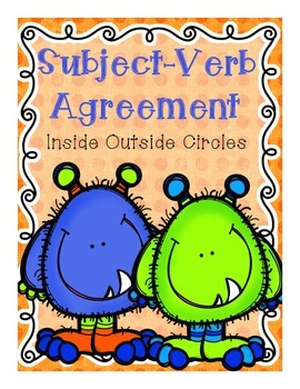 Subject-Verb Agreement Inside Outside Circles Game