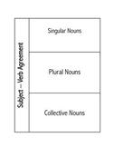 Subject/Verb Agreement Interactive Notebook